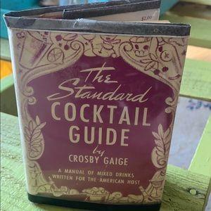1944 Vintage The Standard Cocktail Guide